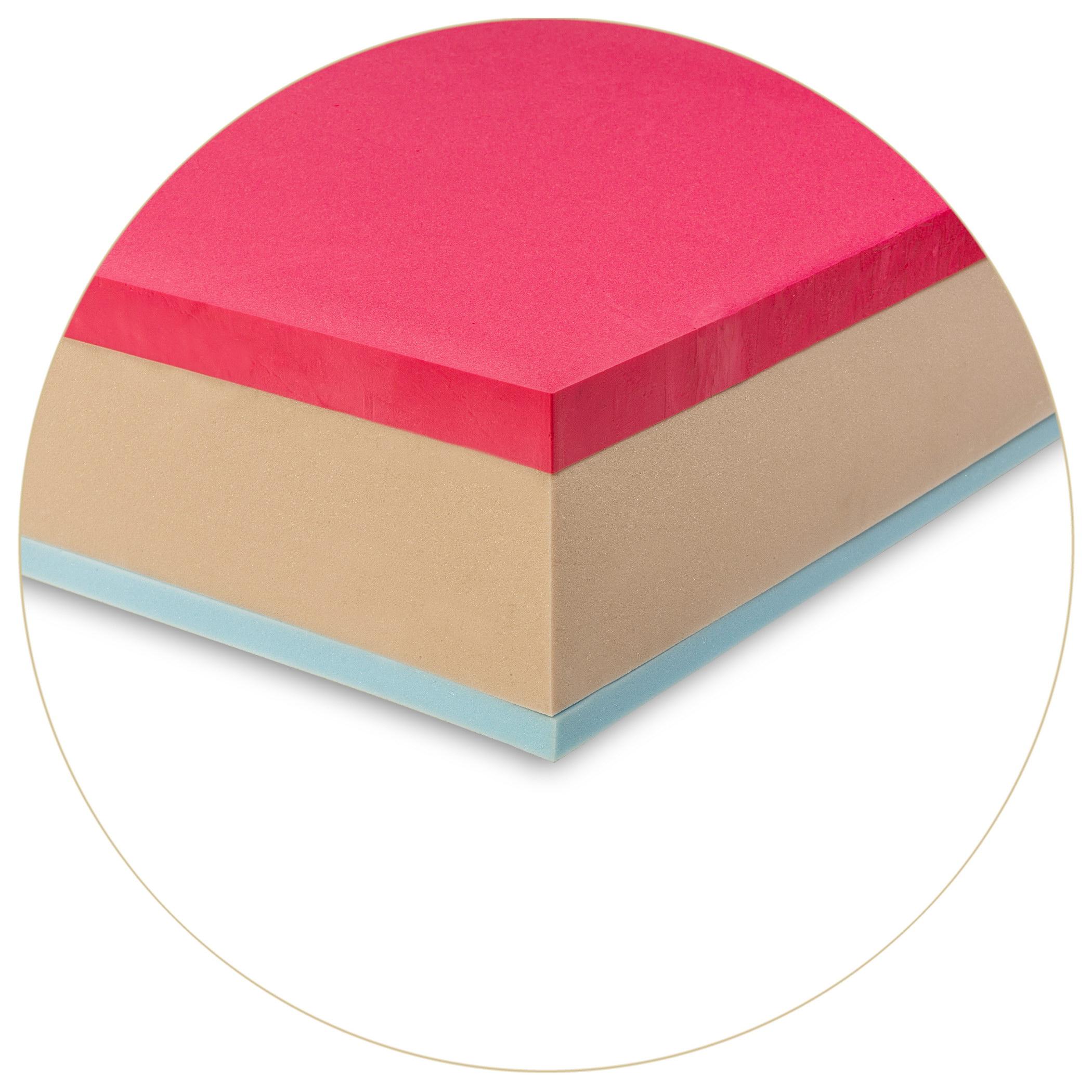 Materasso Memory Con Gel.Materasso Memory Foam Tre Strati Con Gel Memoplus Red Gel Gilbey S